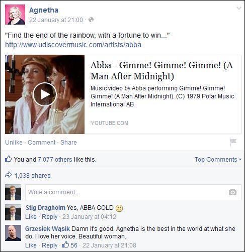 FB 220115 Agnetha
