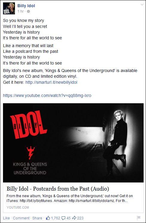 FB 110315 Billy Idol