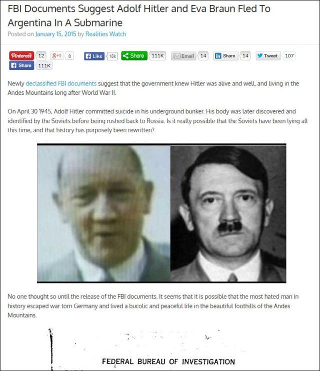 Realitieswatch Hitler