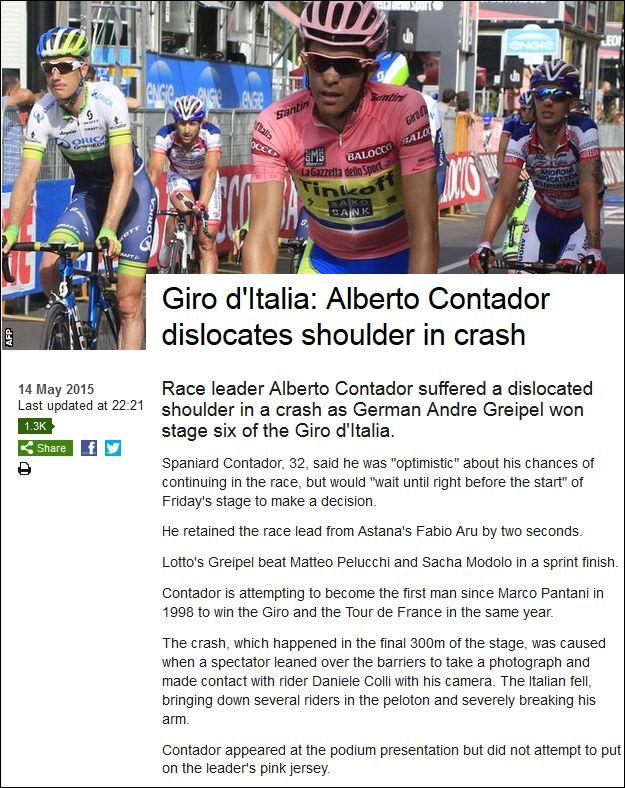 BBC 140515 Contador