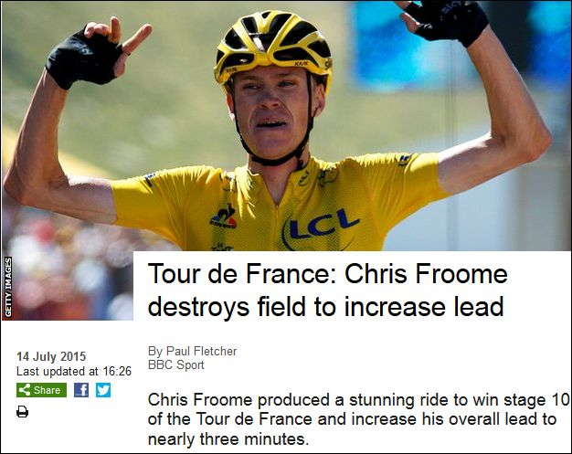 Chris Froome 140715