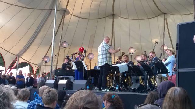 DR Big Band with Miriam Mandipira 060715