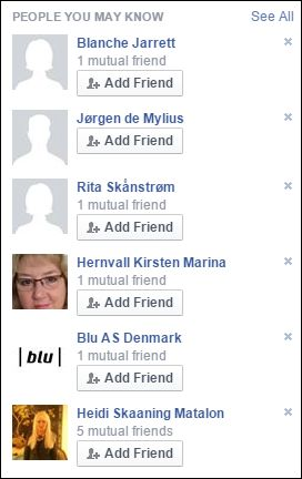 FB 141115 People you may know