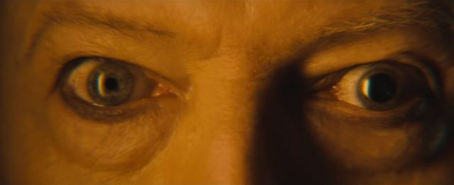 The famous eyes of Bowie including all force of the Source and creation of life being part of me