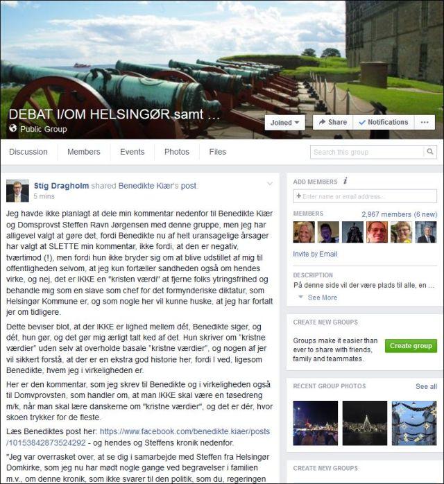 FB 211215 Benedikte 5 til Debat gruppen