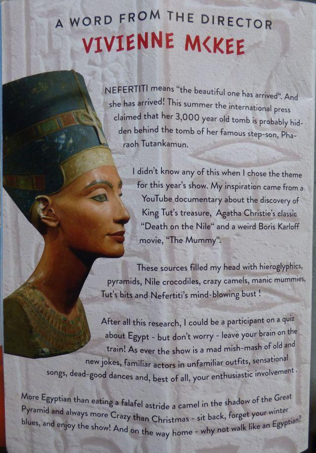 Nefertiti the beautiful one