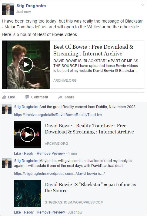 FB 110116 to Bowie FB group