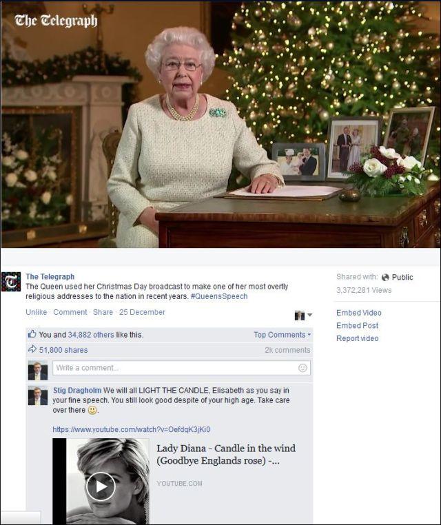 FB 301215 Queen Elisabeth
