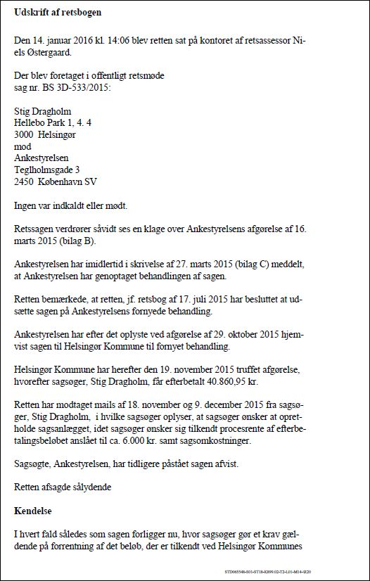 Retsbog 150116-1