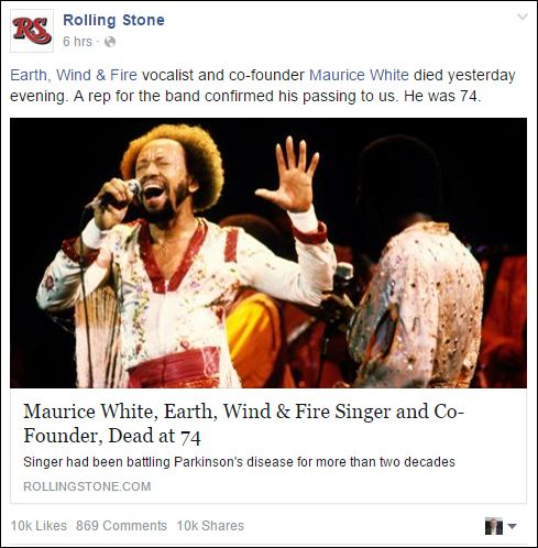 FB 050216 Rolling Stone Maurice White