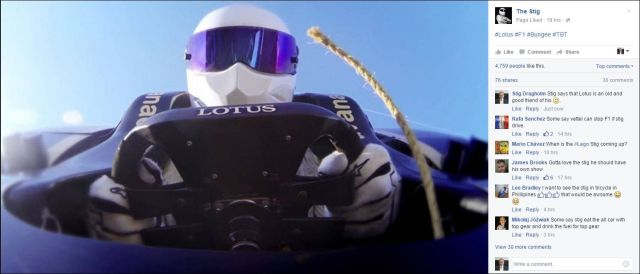 FB 180215 the Stig