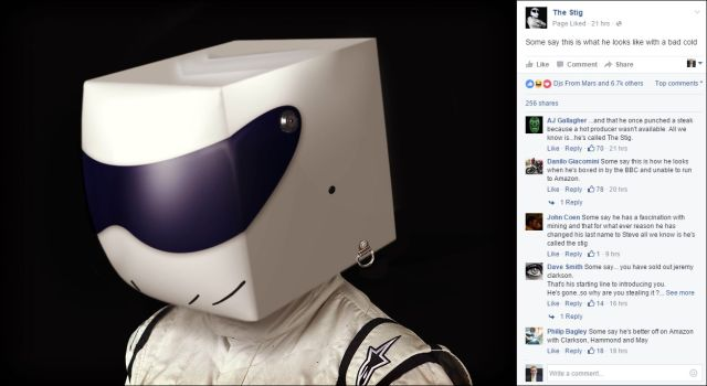 FB 250216 the Stig