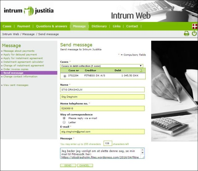 til Intrum Web