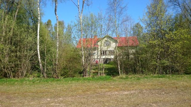 Backside of Derelict Farm, Göteryd, Sweden 080516