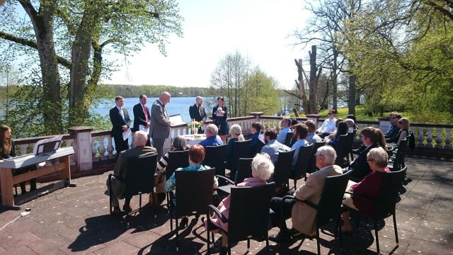 Baptism of the Humanists at Möckelsnäs Herrgård
